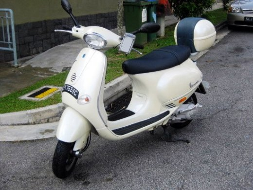 2003 PIAGGIO VESPA ET8 Online Average Sale Price HKD$7,928