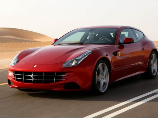 2012 FERRARI FF 網上放售平均價 HKD$2,958,361
