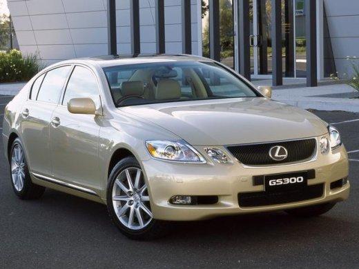 2006 LEXUS GS300 網上放售平均價 HKD$66,750