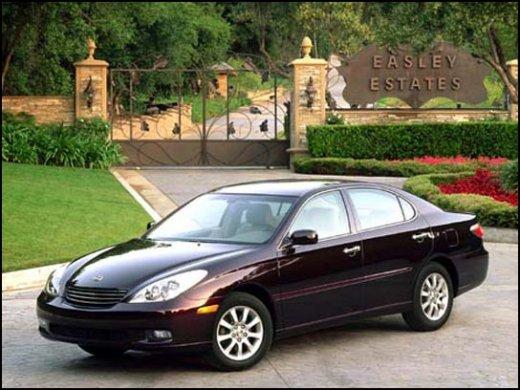 2002 LEXUS ES300 Online Average Sale Price NTD$160,000