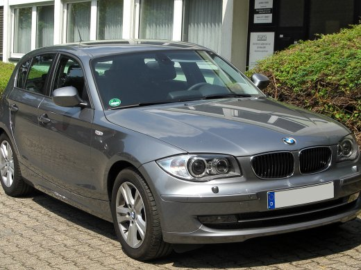 2010 BMW 120I 網上放售平均價 HKD$118,545