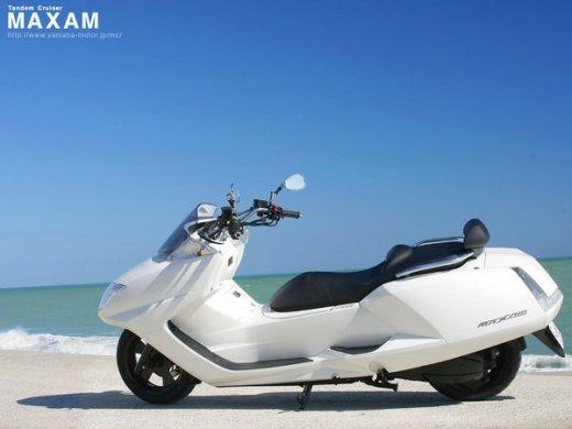 2007 YAMAHA MAXAM CP250 Online Average Sale Price HKD$32,929