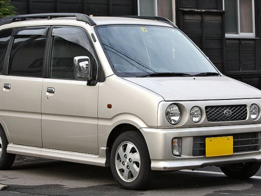 2000 DAIHATSU MOVE Online Average Sale Price HKD$9,853
