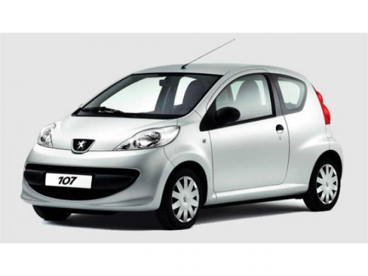 2007 PEUGEOT 107 Online Average Sale Price HKD$26,863