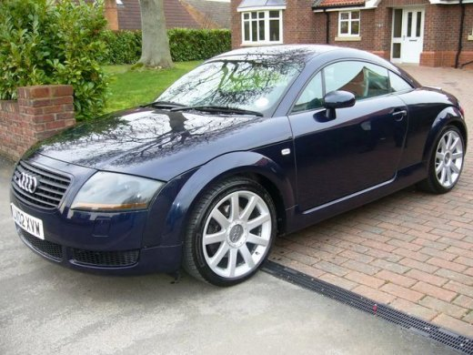 2001 AUDI TT 1.8T Online Average Sale Price HKD$45,714