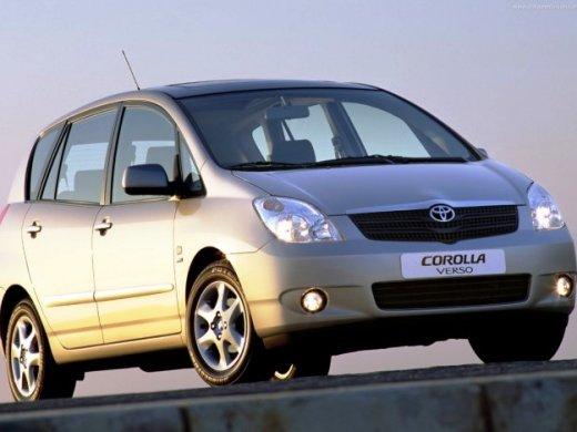 2003 TOYOTA COROLLA VERSO 網上放售平均價 HKD$23,100