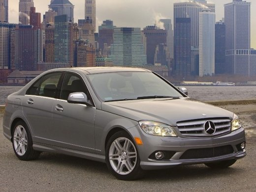2008 MERCEDES-BENZ C200 1.8 Online Average Sale Price HKD$127,420